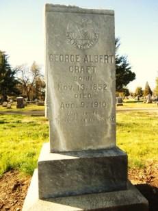 GeorgeAlbertCraft1852_gravestone