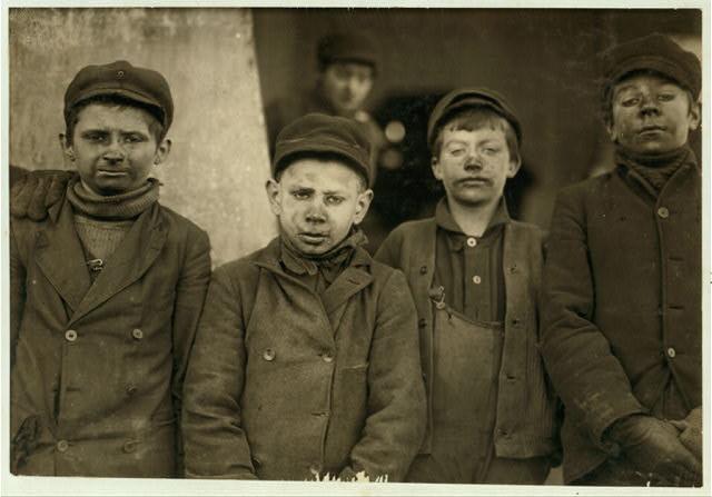 children miners