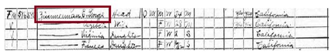 Zimmerman census