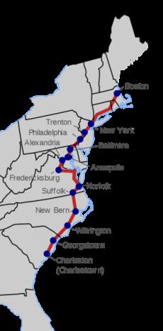 Migration King's_Highway_map